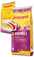Josera (Йозера) Miniwell Сухой корм для взрослых собак мелких пород, 15 кг.