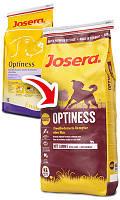 Josera (Йозера) Optiness - Сухой корм для взрослых собак средних и крупных пород, 15 кг.