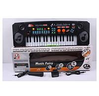 Пианино синтезатор с микрофоном MQ-803USB, детский орган