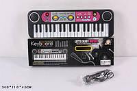 Пианино синтезатор с радио и микрофоном MQ014FM, детский орган
