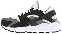 Мужские кроссовки Nike Air Huarache (найк хуарачи) черные/белые