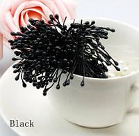 Тычинки на нитке черные
