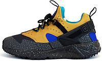 Мужские кроссовки Nike Air Huarache (найк хуарачи) черные