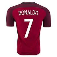 Футбольная форма Сборной Португалии Домашняя ЕВРО 2016 Роналдо