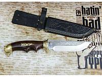 Охотничий нож Спутник Медведь М. Нож на подарок военным охотникам. Оригинальное фото