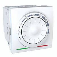Термостат Schneider-Electric Unica теплого пола с датчиком 10А белый (MGU3.503.18)
