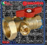 Giacomini шаровой клапан с выводом 1/2 для термометра R540 и 18-миллиметровым выводом для котельного блока