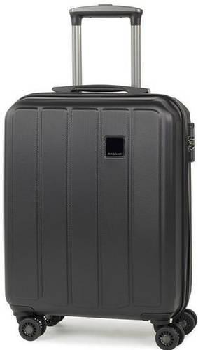 Восхитительный пластиковый 4-колесный чемодан 34 л. Members Nexa (S), 922798 черный