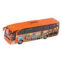 """Игрушечные машинки и техника «Dickie Toys» (3314826) автобус для путешественников """"Holiday  Traveller"""" 27 см (красный)"""