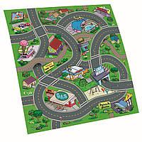 """Игрушечные машинки и техника «Dickie Toys» (3315318) игровой коврик """"Majorette"""", 70х80 см (вид 1)"""