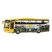 """Игрушечные машинки и техника «Dickie Toys» (3314826) автобус для путешественников """"Holiday  Traveller"""" 27 см (жёлтый)"""
