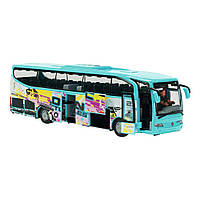 """Игрушечные машинки и техника «Dickie Toys» (3314826) автобус для путешественников """"Holiday  Traveller"""" 27 см (голубой)"""