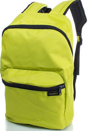 Яркий спортивный рюкзак 10 л. Newfeel ARP002-3 лимонный