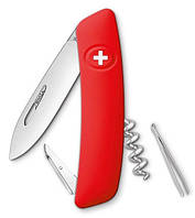 Швейцарский нож для охоты 4 предмета SWIZA D01 (101000), красный