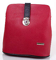 Красная женская кожаная мини-сумка KARYA (КАРИЯ) SHI0380-1FL