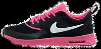 Женские кроссовки Nike Air Max Thea (найк аир макс) черные