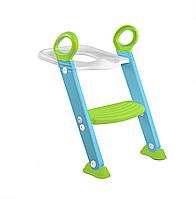 Сиденье на унитаз Toilet Trainer, цвет Turquoise, KETER