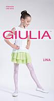 Нарядные детские колготки с рисунком розочки TM GIULIA