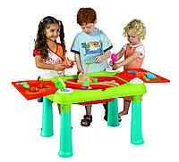 Стол для игр с песком и водой  Sand & water table, цвет WM Turquoise, KETER