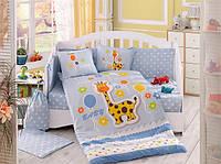Комплект детского постельного белья Puffy (Голубой), Hobby