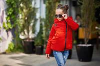 Стильная куртка для девочки, еврозима. В наличии 3 цвета