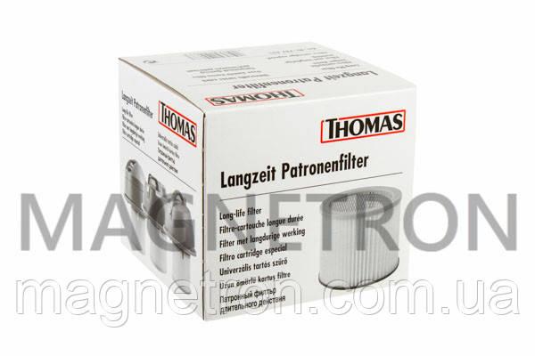 Фильтр цилиндрический (сухая уборка) для пылесосов Thomas 787421, фото 2