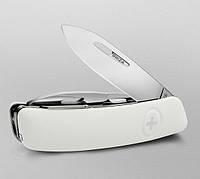 Швейцарский перочинный нож на подарок, 11 функций SWIZA D03 (301020), белый