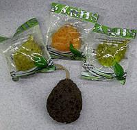 Натуральная губка - мочалка из морскихьх водорослей