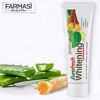 Отбеливающая зубная паста Eurofresh Whitening