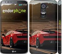 """Чехол на LG G2 Lamborghini v2 """"2948c-37"""""""