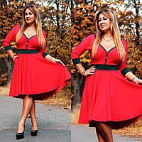 Очаровательное повседневное платье с кармашиками. 42-46 и 48-50