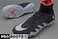 Детские футбольные бутсы Nike Hypervenom Phantom II Neymar x Jordan FG Junior