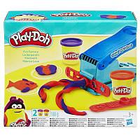Плей-До Play-Doh мини набор веселая фабрика  B5554