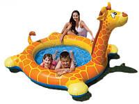 Детский бассейн Intex 57434 Жираф 208 х165 х122 см