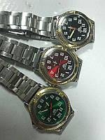 Мужские часы, кварцевые на браслете 2