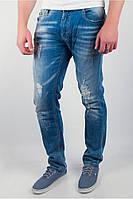Мужские джинсы с потертостями TOS 166KF031