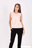 Модная женская блуза без рукавов