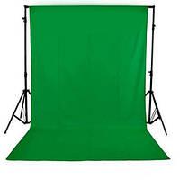 Зелёный фотофон (Хромакей)1,6м х 3м