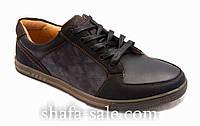 Туфли  мужские  на шнуровке