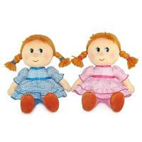 Мягкая игрушка кукла Маруся в праздничном платье (LA8061D)
