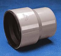 Патрубок с резиновой манжетой для присоединения к чугунным трубам внутренней канализации