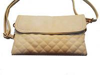 Женская сумка клатч DG 86001 повседневный модный клубный бежевый