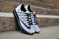 Мужские кроссовки Nike Air Max 2016 черно-белые