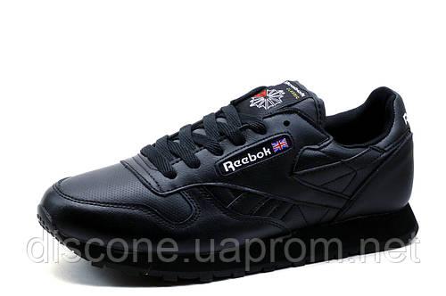 Кроссовки Reebok Classic, черные, мужские, р. 41 43 44 45 46