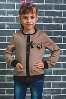 Жакет для девочки беж, фото 1