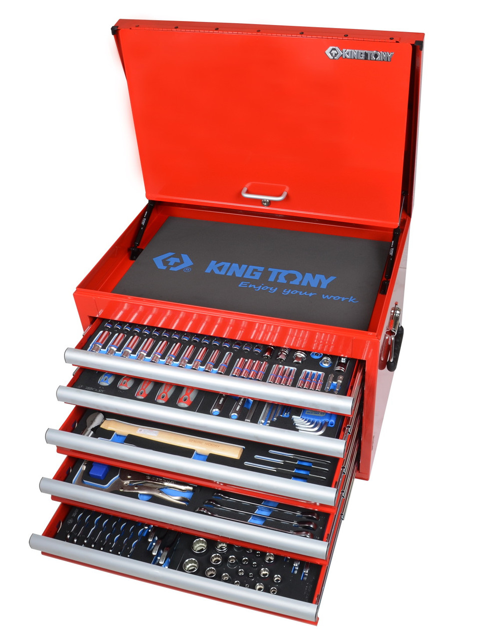 Набор инструмента 306 предметов+ ящик KINGTONY 919-001CRV