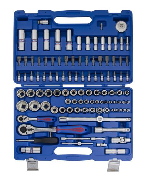Набор инструментов 108 ед. 1/4'+1/2' KINGTONY SC7510MR