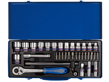 Набор головок 1/2   8-32 мм, 33 предмета KINGTONY 4535MR01