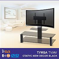 Тумба под телевизор СТАТУС new DECOR black