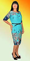 Красивое платье со складочками на груди